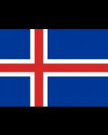 Iceland Courtesy Flag