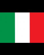 Italy National Courtesy Flag