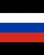 Russia Courtesy Flag