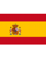 Spain State Courtesy Flag
