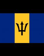 Barbados Courtesy Flag