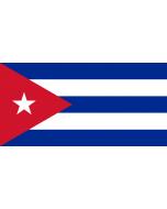 Cuba Courtesy Flag