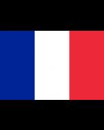 France Courtesy Flag