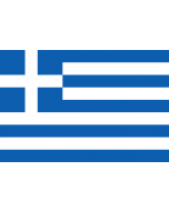 Greece National/Merchant Courtesy Flag
