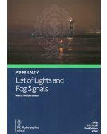 NP78 - ADMIRALTY List of Lights and Fog Signals: West Mediterranean (Volume E)