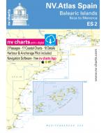 ES 2: NV.Atlas Spain - Balearic Islands (Ibiza to Menorca)