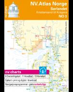NO 3: NV.Atlas Norge - Sørlandet Øst (Kristiansand til Kragerø)
