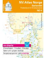 NO 4: NV.Atlas Norge - Sørlandet Vest (Flekkefjord til Kristiansand)