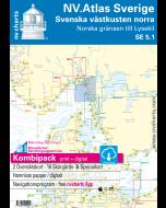 SE 5.1: NV.Atlas Sverige - Svenska västkusten norra (Norska grensen till Lysekil)