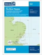 C2 The River Thames - Teddington to Southend (Imray Chart)