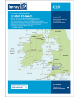 C59 Bristol Channel - Worms Head and Bull Point to Sharpness (Imray Chart)