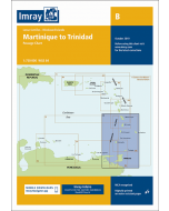 B Martinique to Trinidad Passage Chart (Imray Chart)