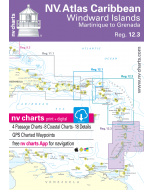 NV. Atlas Caribbean - Windward Islands, Martinique to Grenada, Reg. 12.3