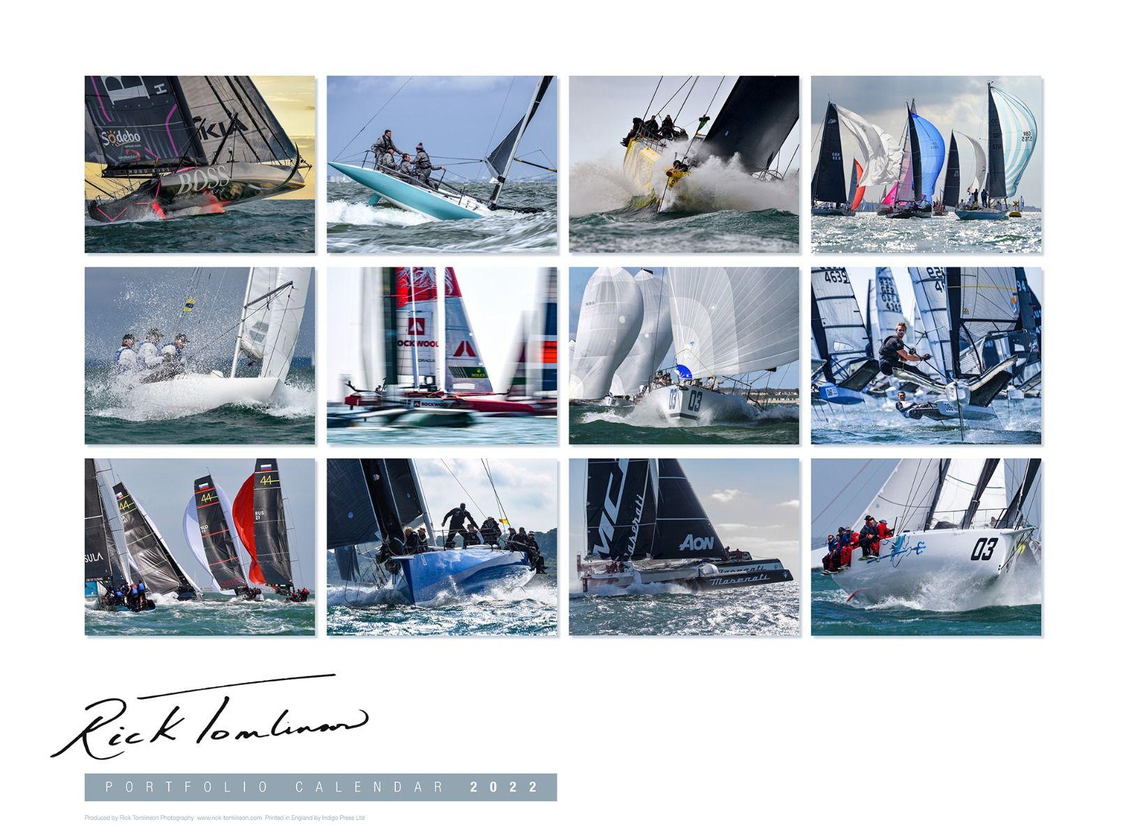 Rick Tomlinson Portfolio Kalender 2022