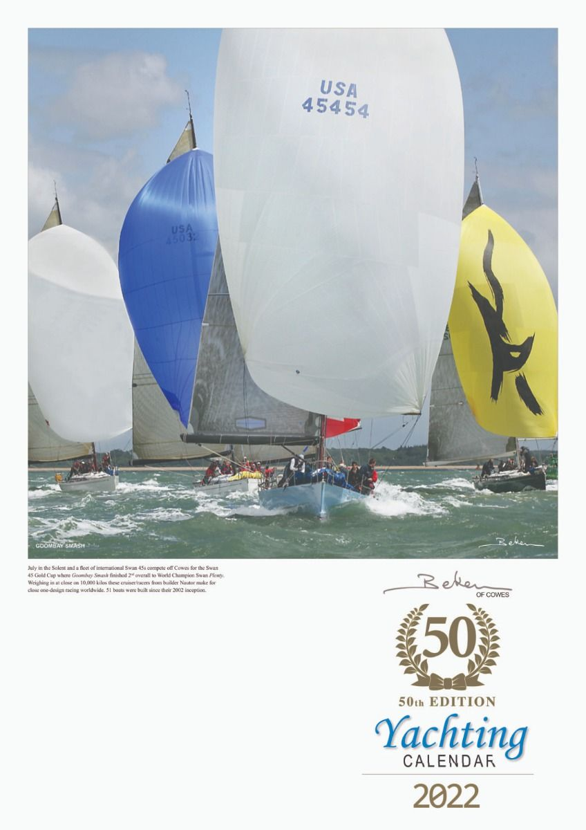 Beken Yachting Calendar 2022