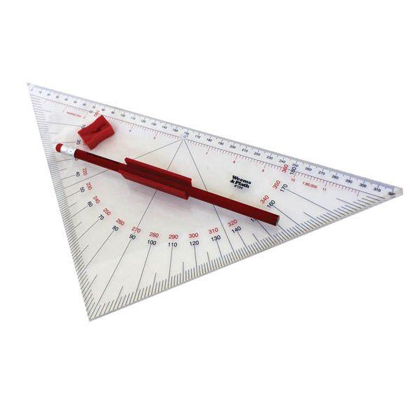 Professionele Protractor Navigatie driehoek met handvat