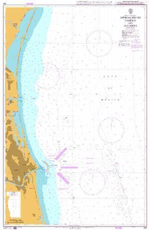 Altamira Mexico Map.Admiralty Chart 364 Approaches To Tampico And Altamira