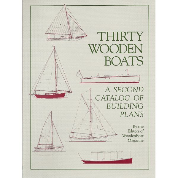 Thirty Wooden Boats Designs