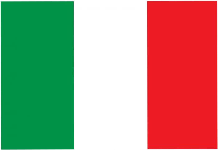 Italy National Courtesy Flag - JW Plant