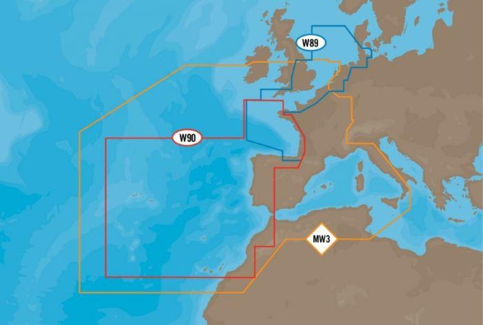 C-MAP MAX - West European Coasts