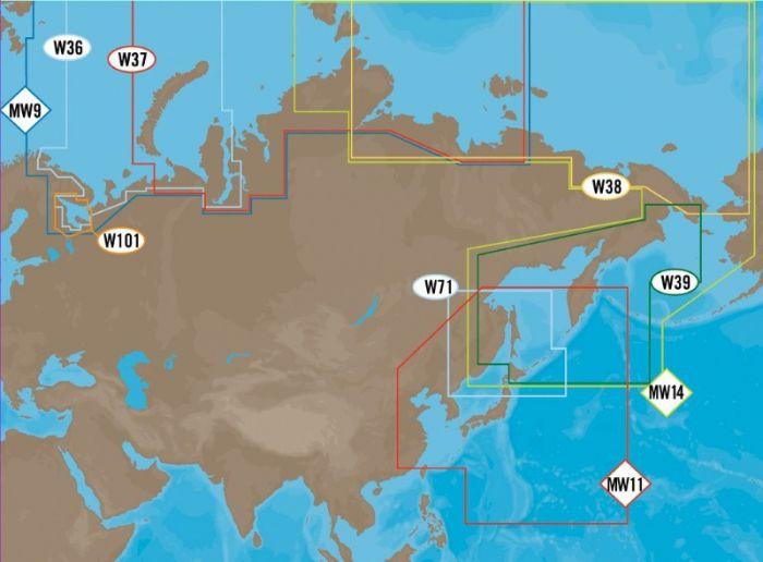 C-MAP MAX - Russian Federation Coasts