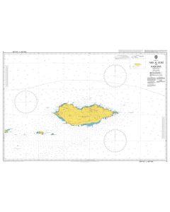 ADMIRALTY Chart 5: `Abd Al Kuri to Suqutra (Socotra)