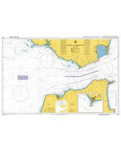 Admiralty Chart 142: Strait of Gibraltar