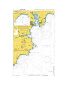 Admiralty Chart 154: Approaches to Falmouth