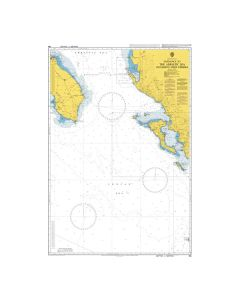 Admiralty Chart 188: Entrance to the Adriatic Sea including Nisos Kerkira