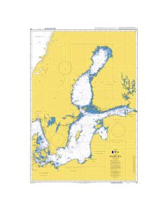 Admiralty Chart 259: Baltic Sea
