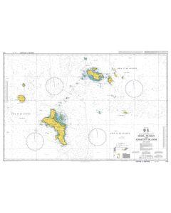 Admiralty Chart 742: Mahe - Praslin and Adjacent Islands