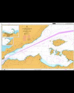 ADMIRALTY Chart 1004: Çanakkale Boğazi (The Dardanelles) to Marmara Adasi