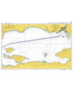 Admiralty Chart 1005: Marmara Adasi to Istanbul Bogazi (The Bosporus)