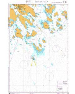 Admiralty Chart 1009: Approaches to Lulea