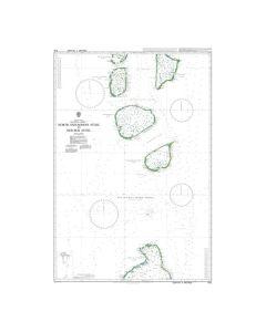 Admiralty Chart 1012: North Huvadhoo Atoll to Mulaku Atoll