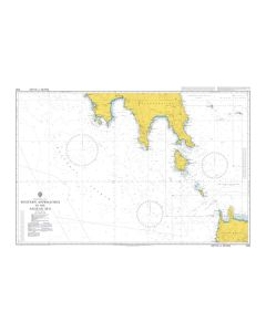 Admiralty Chart 1092: Western Approaches to the Aegean Sea