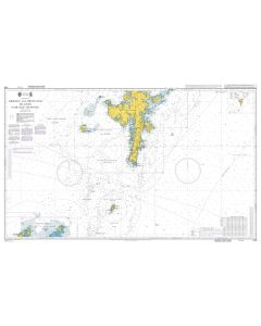 ADMIRALTY Chart 1119: Orkney and Shetland Islands Fair Isle Channel