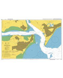 Admiralty Chart 1491: Harwich and Felixstowe