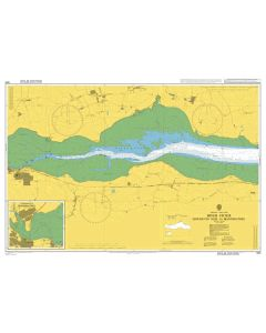Admiralty Chart 1594: River Stour Erwarton Ness to Manningtree