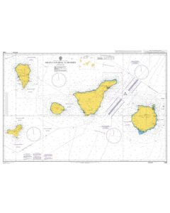 Admiralty Chart 1861: Gran Canaria to Hierro