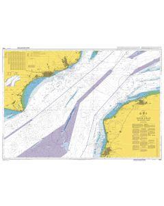 ADMIRALTY Chart 1892: Dover Strait Western Part