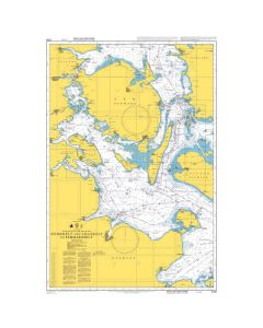 Admiralty Chart 2106: Storebaelt and Lillebaelt to Fehmarn Belt