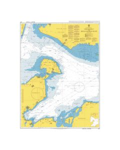 ADMIRALTY Chart 2117: Fehmarn belt and Mecklenburger Bucht