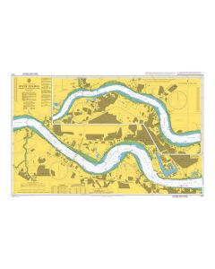 Admiralty Chart 2151: River Thames Tilbury to Margaret Ness