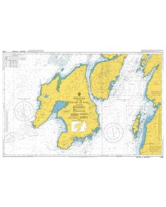 Admiralty Chart 2168: Approaches to the Sound of Jura