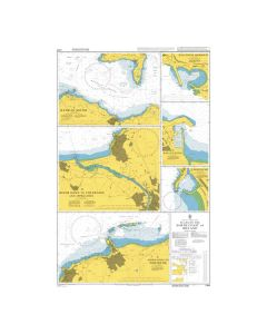 Admiralty Chart 2494: Plans on the North Coast of Ireland