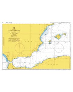 ADMIRALTY Chart 2717: Strait of Gibraltar to Barcelona and Alger including Islas Baleares
