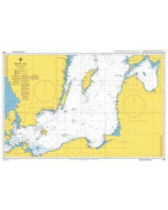 ADMIRALTY Chart 2816: Baltic Sea, Southern Sheet