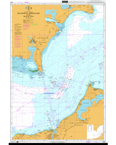 ADMIRALTY Chart 2944: Southwest Approaches to the Baltic Sea
