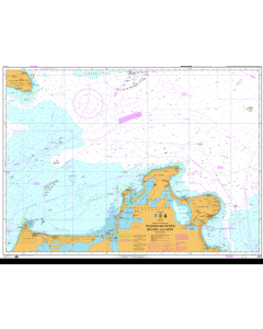 ADMIRALTY Chart 2945: Waters Between Rugen And Mon